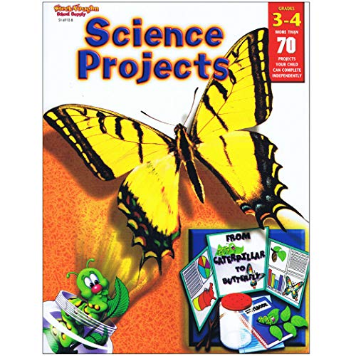 """Price comparison product image Houghton Mifflin Harcourt SV-69108 Science Projects Book,  Grade: 3 to 4,  0.2"""" Height,  8.31"""" Wide,  10.88"""" Length"""