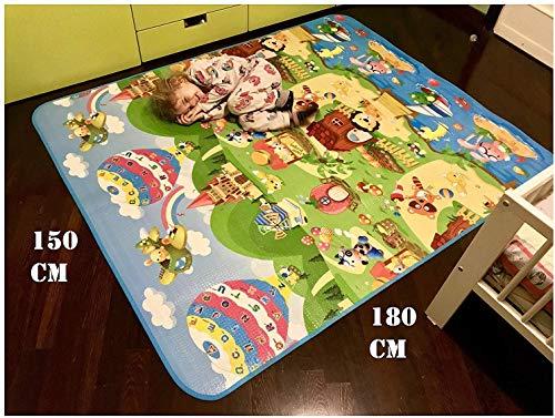 GLOBOLANDIA Tappeto Bambini Ultra Spessore 92715 Ideale per Il...