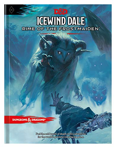 Icewind Dale: Rime of the Frostmaiden D&d Adventure Book