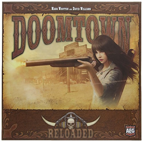 Alderac Doomtown Reloaded Boxed Card Game