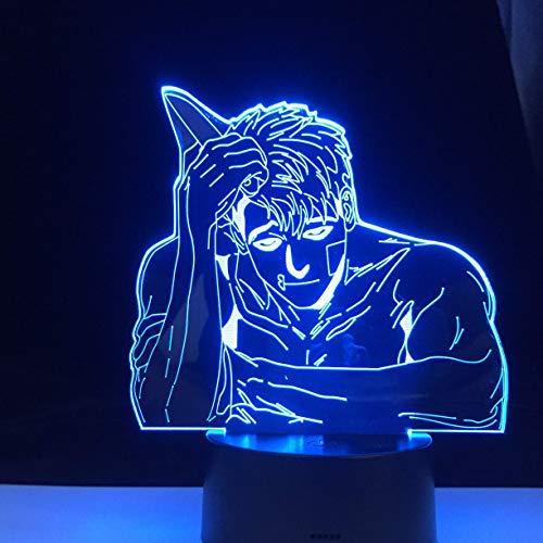 Lámpara de Anime Killing Stalking Manga, luz de noche Led para dormitorio, lámpara acrílica 3D, decoración, luz nocturna, ventiladores para niñregalo de cumplea