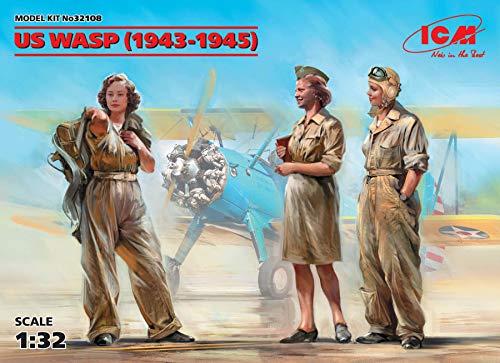 ICM 1/32 US 女性パイロット WASP 1943-1945 プラモデル 32108