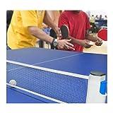 Red De Tenis De Mesa Portátil Ping Pong Table Net Retractable Professional Reemplazo De Ping Pong Accesorio para Dinging Table School Home Office Office Desk