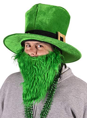 Leprechaun Child Costume Jacket St Patrick Hat Vest Shamrock Small 4-6 Green Mr