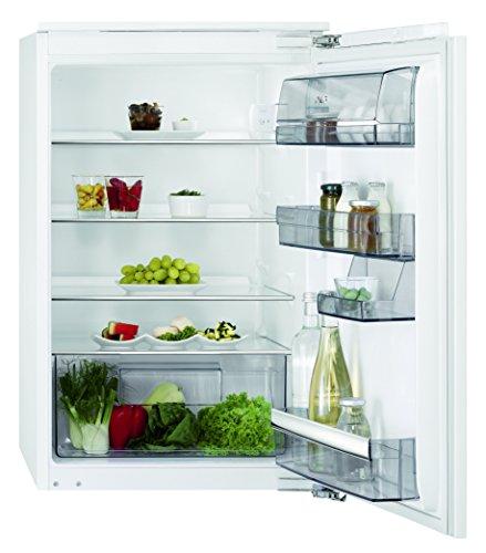 AEG SKB68821AF Kühlschrank mit Glasablagen / 137 Liter Einbaukühlschrank ohne Gefrierfach / energieeffizienter Unterbau-Kühlschrank der Klasse A++ (95 kWh/Jahr) / Einbau-Höhe: 88 cm / weiß