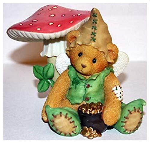 Cherished Teddies RYAN I'm Green with Envy for You Leprechaun Figurine 203041,Multi