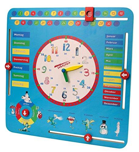 Beluga Spielwaren 61008 Tabaluga Lernuhr groß 61008-Tabaluga, Blau