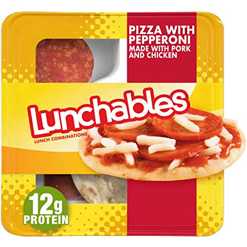 Lunchables Pizza With Pepperoni And Pizza Sauce Lunch Combination 4 3 Oz Tray Buy Online In Cambodia At Cambodia Desertcart Com Productid 75765187