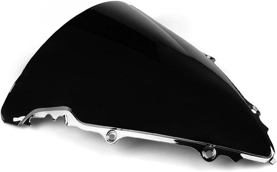 Motorrad Windschutzscheibe Shield Wind Screen Windschutzscheibe f/ür Yamaha YZF R6 2003-2005 YZF R6s 2006-2009 Blau