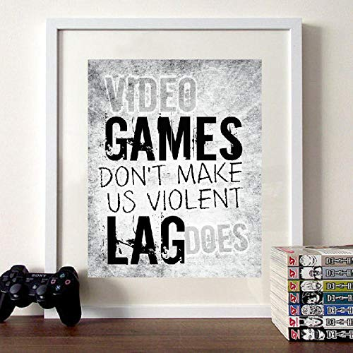 cgsmvp Impresión en Lienzo Carteles Xbox Video Game Controller Gamer Arte de la Pared Pintura Imagen Decoración del hogar Habitación Modular para Adolescentes / 40x50cm-Sin Marco