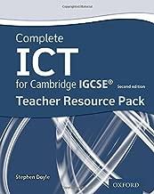 Complete ICT for Cambridge IGCSE Teacher Pack (Second Edition) (Cambridge Igcse Ict) by Stephen Doyle (2016-03-17)