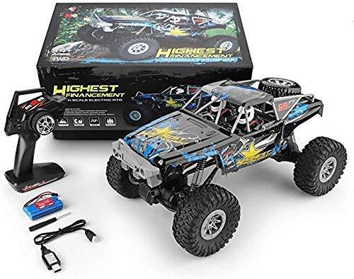 Escalada truco 2.4Ghz coche de control de oruga eléctrica Simulación Off-Road de vehículos de juguete RC remoto de coches de camiones for el regalo del Niño 1:10 (Tamaño: Cuatro batteris) hefeide