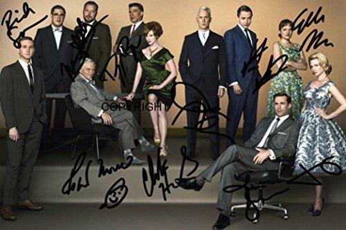 Edición limitada Mad Men fundido firmada fotografía + Cert...