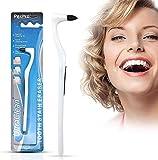 Goma de borrar, eliminador de sarro, pulidor, limpieza dental, blanqueamiento dental, higiene bucal, color blanco