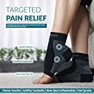 CompressionZ Plantar Fasciitis Socks - Compression Foot Sleeves - Ankle Brace Arch Support - Pain Relief for Heel Spurs, Edema, Achilles Tendonitis #1