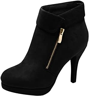 Top Moda George-40 Ankle Wrap Boots