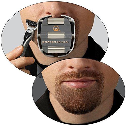 Mens Goatee Shaving Template | Create a Perfectly Shaped Goatee Every...