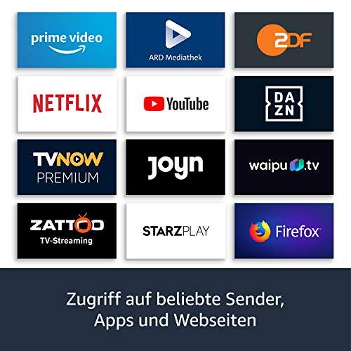 Fire TV Cube, Zertifiziert und generalüberholt │ Hands-free mit Alexa, 4KUltraHD-Streaming-Mediaplayer