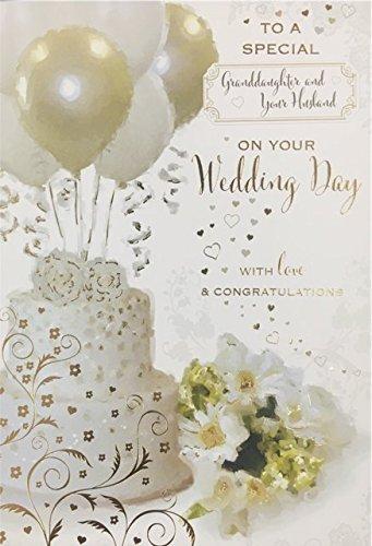 Spezielle Hochzeit Karte Sohn und Schwiegertochter, Bruder und Schwägerin, Grandson und ihre Frau, Tochter und Schwiegersohn, Schwester und Schwager oder Enkelin und ihr Ehemann