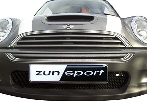 Zunsport Kompatibel mit Mini Cooper S R52 & R53 - Kompletter Grillsatz - Schwarz (2001 bis 2006)