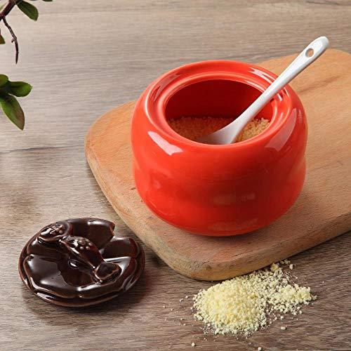 Europese stijl fornuis met keramische specerijen, flessen van specerijen, zout, olie tank, specerijen, fles, lepel peper kruidkruik,koning