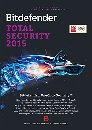 Bitdefender Total Security 2015 12 Monate / 1 User [Download]