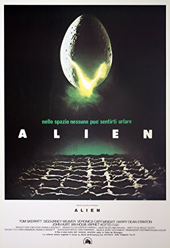 Movie Poster Alien - Póster (100 x 70 cm)