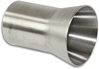 "Stainless Headers Mfg.  1.75"" to 2.25"" Stainless Exhaust Header Transition Muffler Adaptor - American Made"