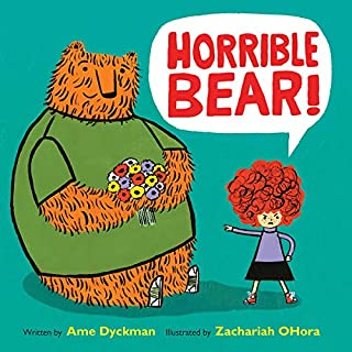 Horrible Bear! audiobook cover art