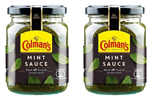 Colmans Classic Mint Sauce 165g - 2 Stück Pack