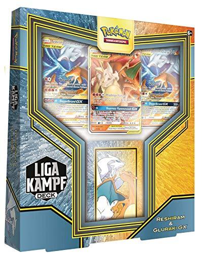 Pokêmon Pokémon-Sammelkartenspiel: Liga Kampfdeck Reshiram & Glurak GX - Neu & OVP - Deutsch