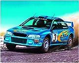 Desconocido Heller Classic 80194 - Subaru Impreza WRC '00, 27 Partes