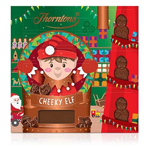 Thorntons - Calendario dell'Avvento con cioccolato, ufficiale 170 g