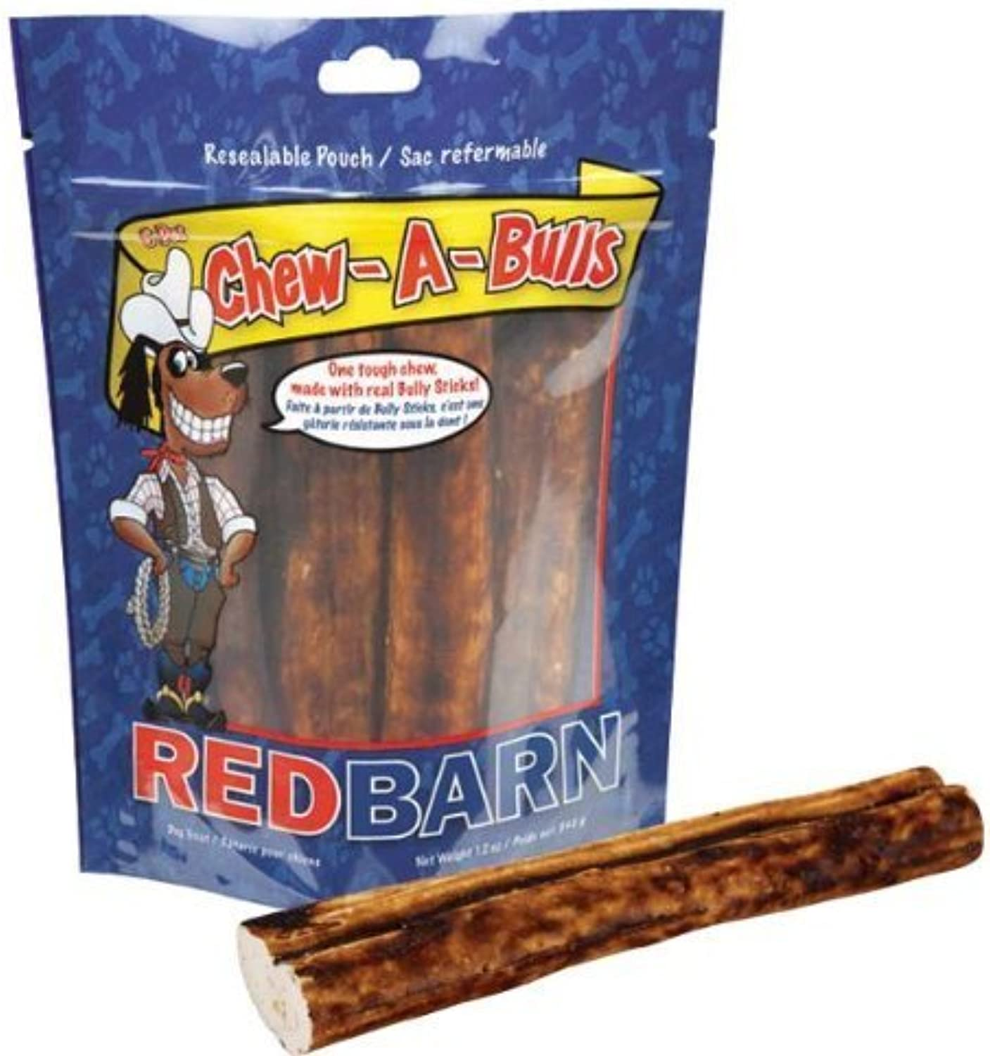 Redbarn Pet Products 785184250068 Redb ChewABulls Alt, 6Pack Bag by Phillips Feed & Pet Supply