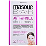 Máscara antiarrugas para barra de mascara, máscara de sábana ~ 3s