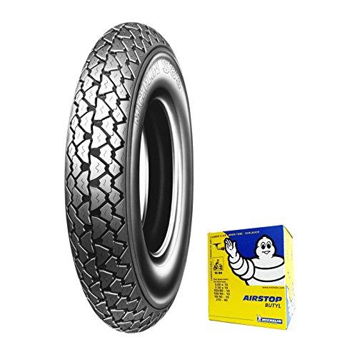 Caoutchouc Pneu Michelin s83 3.50 – 10 59J + chambre d'air