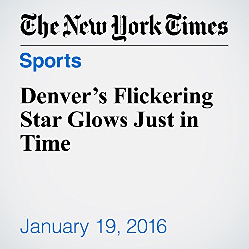 Denver's Flickering Star Glows Just in Time cover art