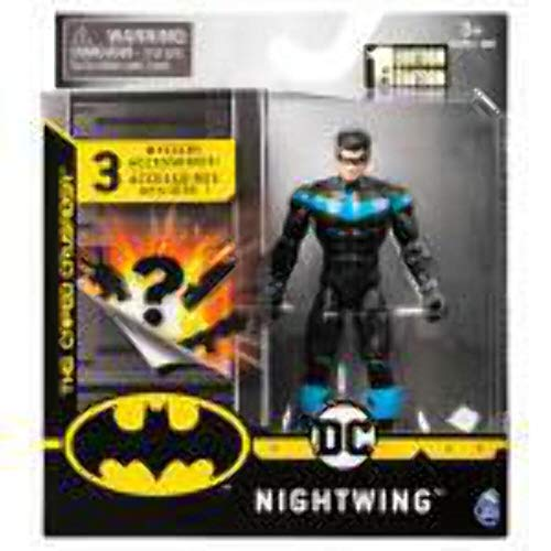 DC Batman 2020 Nightwing 4-inch Action Figure by Spin Master