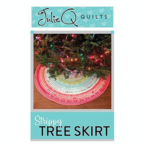 Julie Q Quilts Strippy Tree Skirt pattern