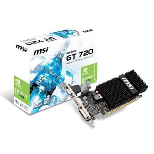 MSI GeForce GT 720 2048MB GDDR5 64bit PCI-E HDMI D