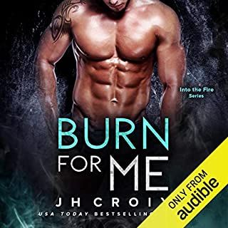 Burn for Me audiobook cover art