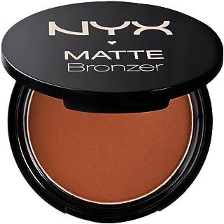 NYX Professional Makeup - Polvos Bronceadores Compactos Matte Bronzer, Fórmula vegana con Acabado Mate - Tono Deep Tan