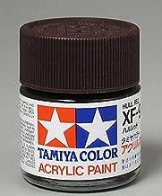 Tamiya America, Inc Acrylic XF9 Flat, Hull Red, TAM81309