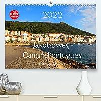 Jakobsweg - Camino Portugues (Premium, hochwertiger DIN A2 Wandkalender 2022, Kunstdruck in Hochglanz): Pilgerweg entlang der portugiesischen Kueste von Porto nach Santiago de Compostela (Geburtstagskalender, 14 Seiten )