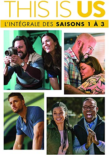 This is Us - Intégrale des Saisons 1 à 3 sur 15 DVD - Saison 1 + 2 + 3 (version originale + version française disponibles)