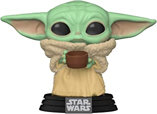 Funko Pop! Star Wars: The Mandalorian - The Child with Cup, Multicolor, 3.75 inches