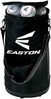 EASTON Ball Bag | Baseballs Softballs | 2020 | Black | Plastic Bottom Protects From Dirt & Water | Reinforced Sides | Adjustable Carry Strap