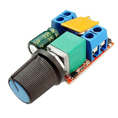 DIY LED U-Home 3Pcs DC3V-35V DC 3V 6V 12V 24V 35V Variable Voltage Regulator 5A PWM Speed Controller Switch Dimmer for DIY LED Panel Light Single Color LED Strip Light SMD5050/SMD5630/SMD3528