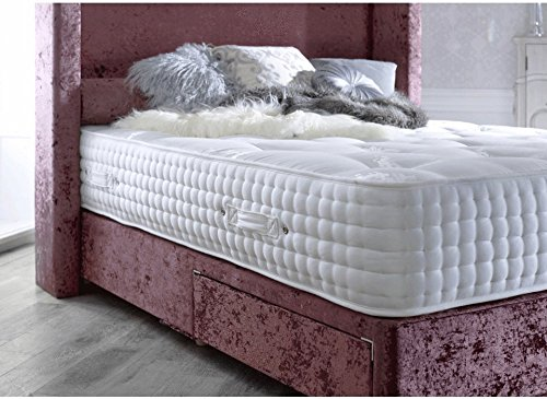 Sleep Factory 3000 Memory Foam Orthopaedic Pocket Sprung Mattress (4FT6 Double (135cm X 190cm)