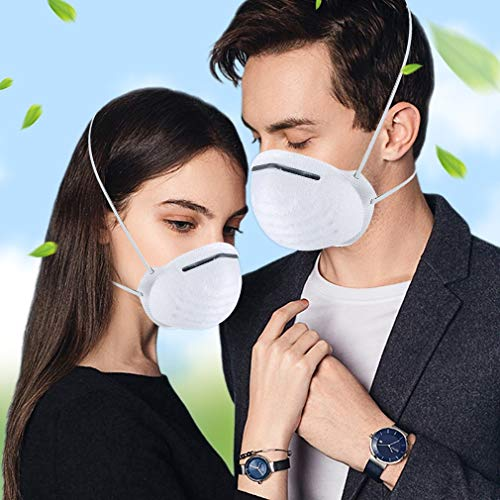 Atemschutzmaske FFP2 Maske Atemschutz Mundschutz Atemschutzmaske zur Prophylaxe Schmierinfektionen & Tröpfcheninfektionen (1PCS) - 10